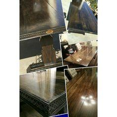 "custom dining table ""bella"" 2013.62 www.thedoretolawrence.com"