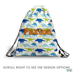 Enthusiastic Personalised Boys Diaper Baby Changing Bag Small Or Large Pirate Dinosaur Sports Easy To Use Baby