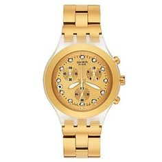 online shopping for Swatch Men's Stainless Steel Analog Watch Gold-Tone Dial from top store. See new offer for Swatch Men's Stainless Steel Analog Watch Gold-Tone Dial Casual Watches, Cool Watches, Watches For Men, Wrist Watches, Nixon Watches, Trendy Watches, Daniel Wellington, Brand Name Watches, Beautiful Watches