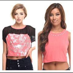 BUNDLE !  NWT Crop Tops new with tags Apple Bottom crop tops. 2 tops one price  Apple Bottoms Tops Crop Tops