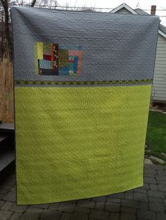 Improv Quilt (Back) by IT Girl Quilts!, via Flickr