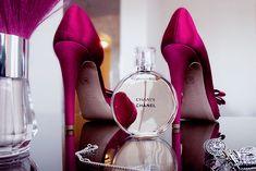 Perfume & stilettos