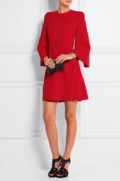 Alexander McQueen Stretch woven mini dress NET-A-PORTER.COM