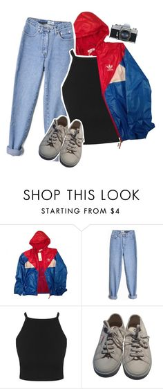 """""""we just call them fans though"""" by angeell ❤ liked on Polyvore featuring adidas and Superga"""
