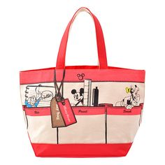 Mickey & Friends Tote Bag