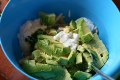 Healthy Avocado Chicken Salad - Skip the mayo and yogurt or substitute with whole30 mayo and serve in lettuce wraps