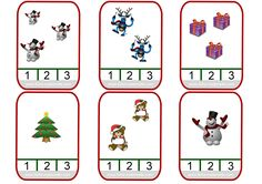 Mathématiques sur le thème de Noël en maternelle et CP