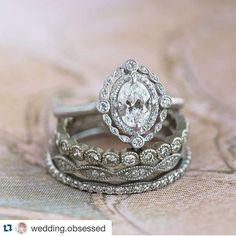 Wedding Rings Vintage, Vintage Engagement Rings, Vintage Rings, Wedding Jewelry, Oval Engagement, Gold Wedding, Wedding Bands, Engagement Jewellery, Irish Wedding Rings