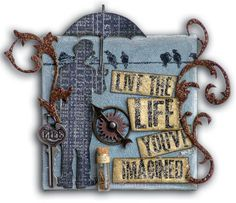 """""""Live the Life"""" Canvas"""