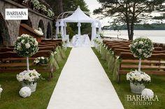 Ślub w plenerze - BARBARA STUDIO - dekoracje na ślub i wesele, wystrój sal weselnych, organizacja ślubów Gdańsk, Sopot, Gdynia