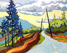 Road Ribbon by Carolee Clark