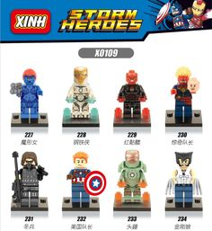 Single Sale Minifigures Marvel Super Hero Avengers Deadpool Batman Building Blocks Sets Bricks Kids Toys legoelieds Compatible #>=#>=#>=#>=#> Click on the pin to check out discount price, color, size, shipping, etc. Save and like it!