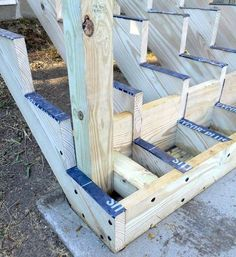 Attaching Bottom Deck Posts | THISisCarpentry