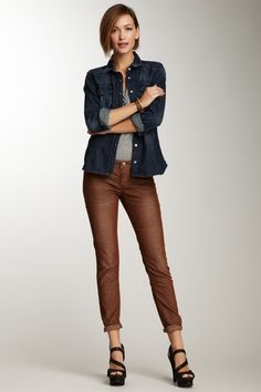 Stitch's Skinny Leg Corduroy Pant by Non Specific on @HauteLook