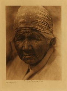 American Indians : A Cupeno Woman.