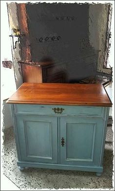 Altdeutsche Kommode- Shabby Chic/ Vintage Hacks Diy, Ikea Hack, Hope Chest, Storage Chest, Paint, Vintage, Life, Furniture, Home Decor