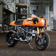 "Ducati "" Ducafe "" Monster Custom by Red Max Speed Shop | Gear X Head"