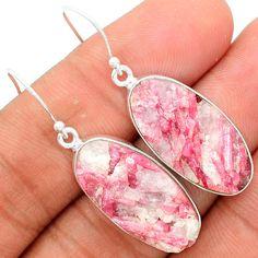 Pink Tourmaline in Quartz 925 Sterling Silver Earrings Jewelry PTQE52 #XTREMEGEMS #Earrings