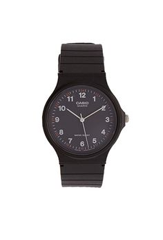 Casio Resin-Strap Analog Watch