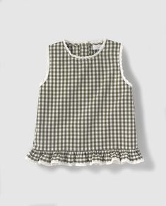 Vestido de niña Bass 10 de cuadros vichy Moda Online, Sewing, Tops, Dresses, Blog, Women, Ideas, Fashion, Kids Fashion