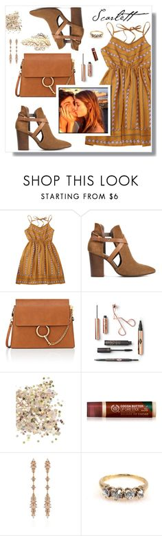 """""""DATE NIGHT"""" by mooncacti ❤ liked on Polyvore featuring H London, Chloé, Topshop and Fernando Jorge"""