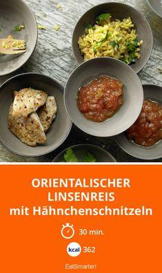 Orientalischer Linsenreis - mit Hähnchenschnitzeln - smarter - Kalorien: 362 Kcal - Zeit: 30 Min. | eatsmarter.de