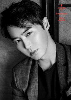 Junjin from SHINHWA - Korean singer and actor