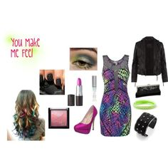 You Make Me Feel, created by ginacarfagno on Polyvore  Inspired by the Cobra Starship song