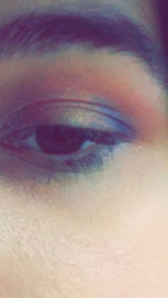 Eye look inspired by the sunset and the sea 🌅