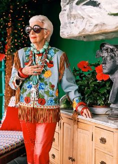 Talking With Iris Apfel, The 93-Year-Old Style Icon | Vanity Fair