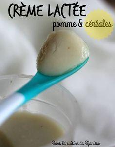 Ma crème lactée pomme & céréales dès 4 mois