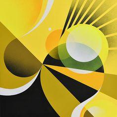 Matt W. Moore geometric illustrations :)