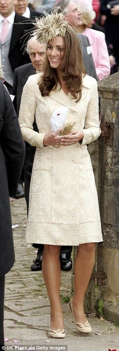Kate first wore her coat by the Danish designer in 2006 for the wedding of Sarah Parker Bowles
