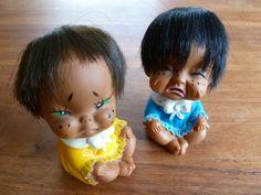 Vintage Japanse Popjes // Cry Babies // Zacht door TrackofTime, €15.00