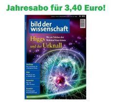 """Aboschnäppchen fürs Hirn – das Jahresabo """"Bild der Wissenschaft"""" nur 3,40 Euro – statt normal 98,40 Euro und viele mehr   Snipz.de - wir lieben Schnäppchen, Deals und Gutscheine"""