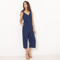 Image Cropped Printed Jumpsuit R édition