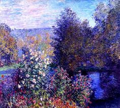 Claude Monet - A corner of the garden at Mongeron, 1877