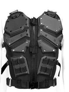 GI Joe Body Armor Lightweight Vest Black