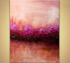 Birch Tree Paintings and Abstract Landscape for Sale