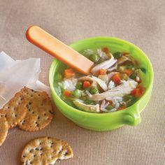 Chicken & Rice Soup  Recipe  at Epicurious.com