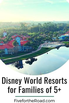 Planning a Disney World vacation? We are sharing the best Disney World resorts for families of 5 or more. Read more at FivefortheRoad.com. Best Disney World Resorts, Disney World Vacation Planning, Walt Disney World Vacations, Vacation Resorts, Beach Resorts, Fort Wilderness Resort, Caribbean Beach Resort, Disney World Tips And Tricks, Family Travel