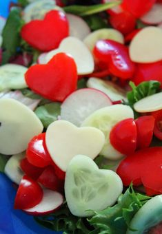 These 29 fun heart shaped foods are just perfect for Valentine's Day. Use them to plan a delicious menu for your valentine!