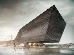 The Making of Office Building : CGarchitect - Professional Architectural Visualization User Community Public Architecture, Architecture Panel, Futuristic Architecture, Contemporary Architecture, Amazing Architecture, Architecture Design, Chinese Architecture, Architecture Portfolio, 3d Architectural Visualization
