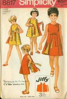 Vintage Simplicity #pattern S8817