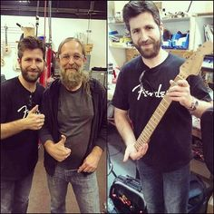 """A FACEBOOK FRIEND AT FENDER MEETING CHIP ELLIS, EDDIE'S RIGHT HAND MAN,..PLUS THE GUITAR NECK EVH USED TO RECORD ERUPTION!"" #evh #eddievanhalen #Frankenstein #Frankenstrat #Vintage #Klassik #Classic #Rock #Music #ChipEllis #eruption #BelieveItOrNot #fender #guitar #vantastikhistory #Vantastik #VanHalen #vanhalenhistory"