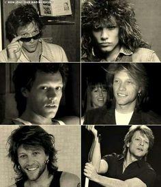 Jon, the many looks through the years