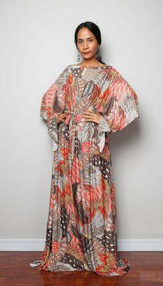 maxi dress boho graphics