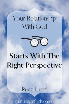 Relationship with God might feel cluttered and confusing if you don't have a good perspective of Him. There are things which can hinder or help you in your relationship with Him; find out how to set yourself up for a good start or restart to pursuing Him. Get To Know Me, Getting To Know, Gods Timing, Hurt Feelings, Continue Reading, Perspective, It Hurts, Faith, Relationship