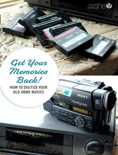 Family. Get Your Memories Back! How to digitize your old home movies