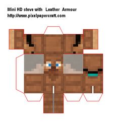 Papercraft Mini HD Steve with all Armour Minecraft Crafts, Minecraft Party, Paper Toys, Paper Crafts, Diy Crafts, Projects For Kids, Crafts For Kids, Newspaper Bags, Paper Cube
